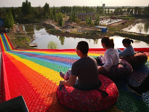 黄河三盛公水利风景区旅游景点攻略图
