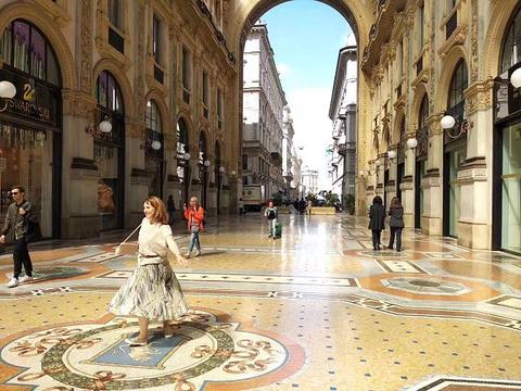 埃马努埃莱二世长廊旅游景点图片