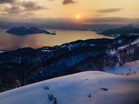 洞爷湖温泉旅游景点攻略图