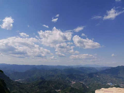 九山顶自然风景区旅游景点攻略图