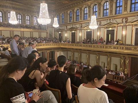 维也纳音乐厅旅游景点图片