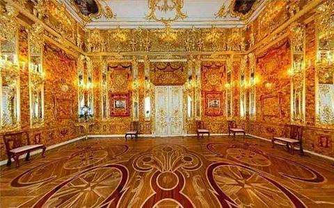 叶卡捷琳娜宫旅游景点攻略图