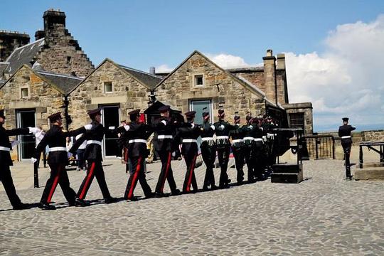 爱丁堡城堡旅游景点图片